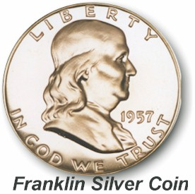 Franklin Silver Coin